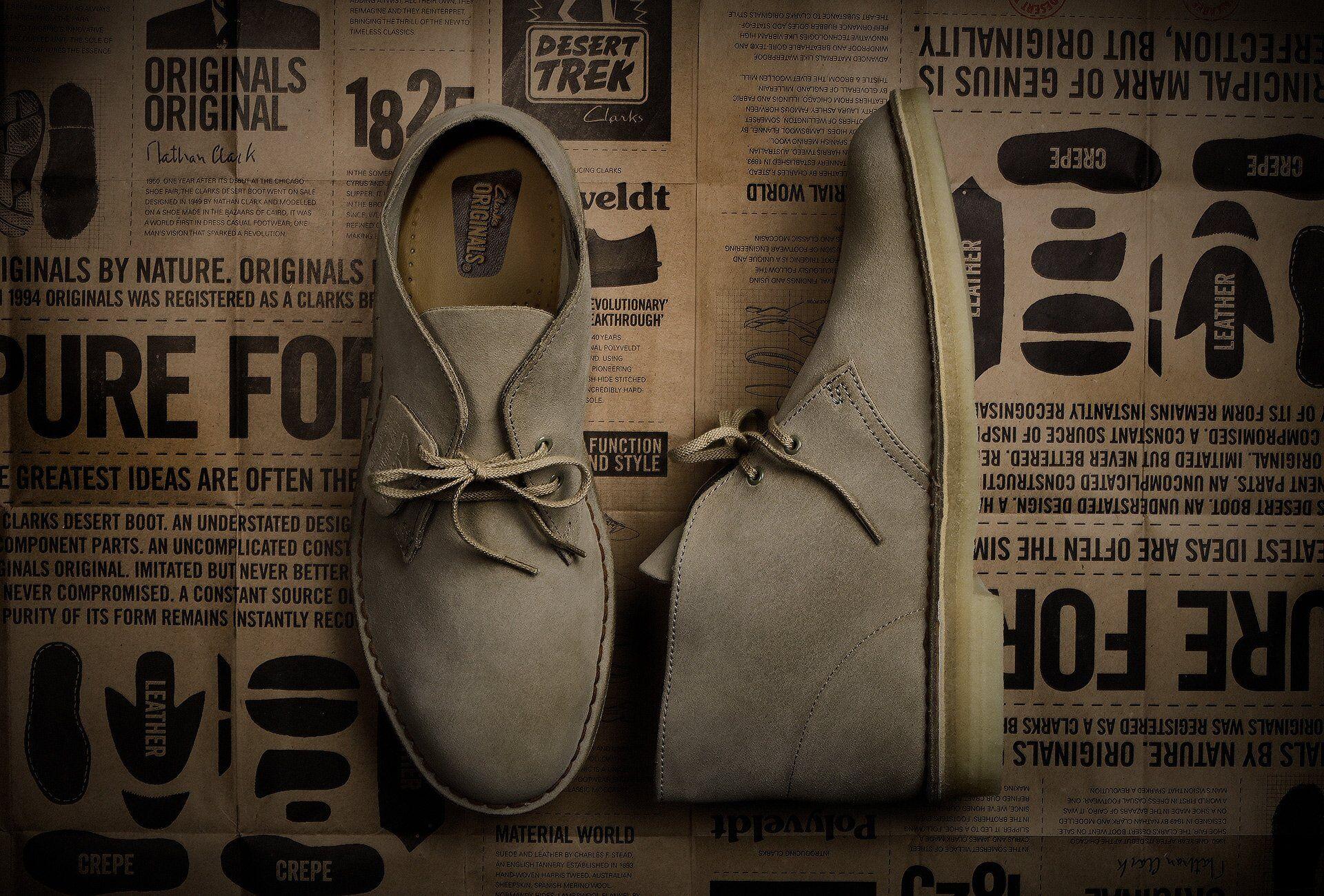Clarks Originals Desert Boot from 1825.