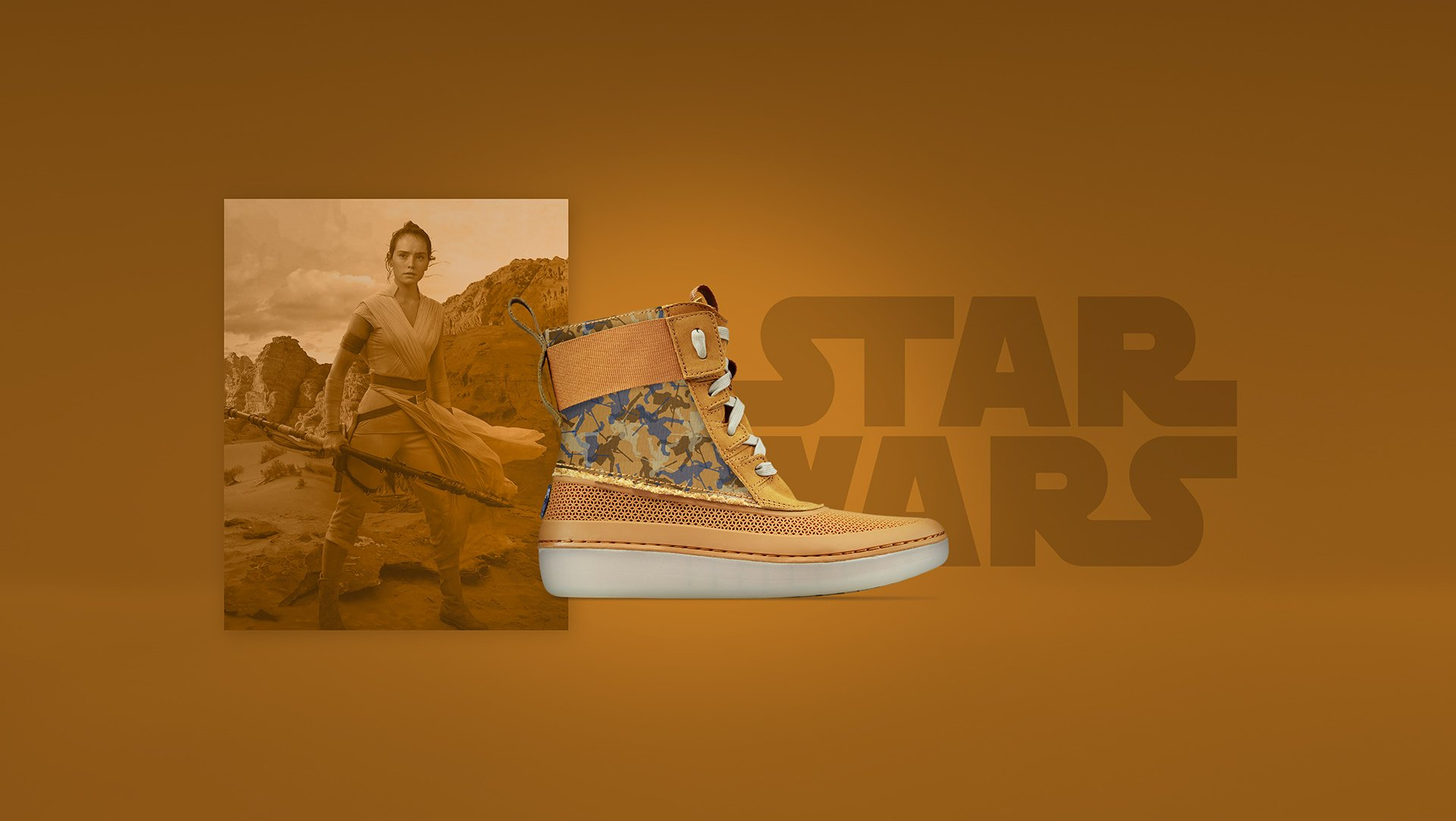 Product Photo of a Clarks, Star Wars collab.